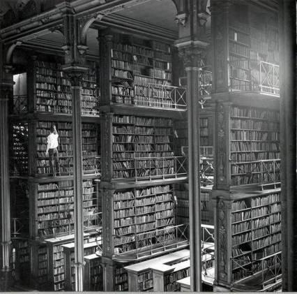 Foto Tyler Berll. Browsing Cincinnati Library