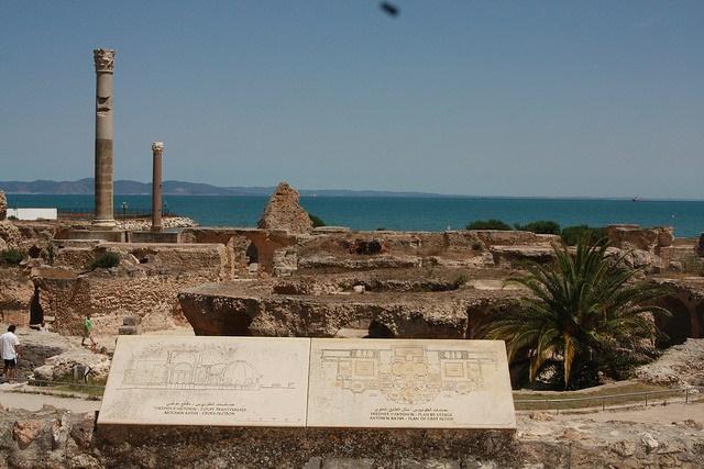 Foto Fernando- Cartage, Baths of Antoninus
