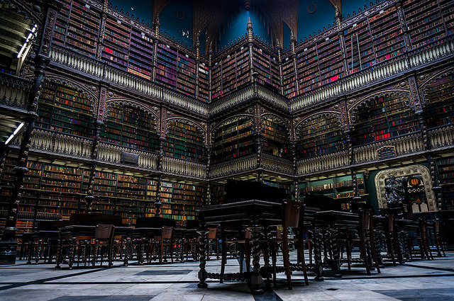 Biblioteca Real Gabinete Portugues De Leitura - Rio De Janeiro, Brazil, lawepw