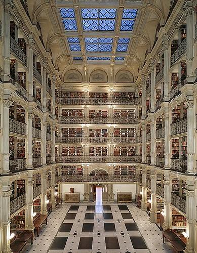 George Peabody Library, Baltimore,Raphaël Labbé