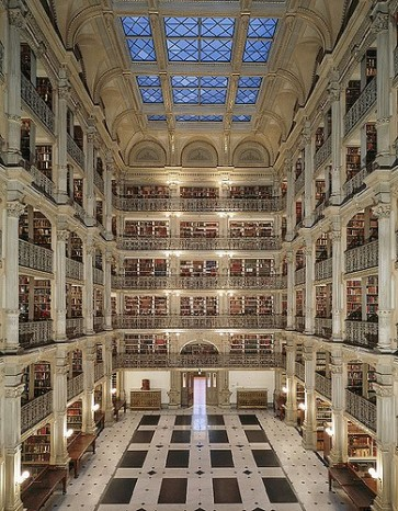 George Peabody Library, Baltimore,Raphaël Labbé