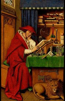 San Girolamo in his study, Detroit, By Jan van Eyck