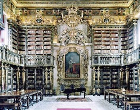 Martien Brand; Biblioteca Joanina, Portugal