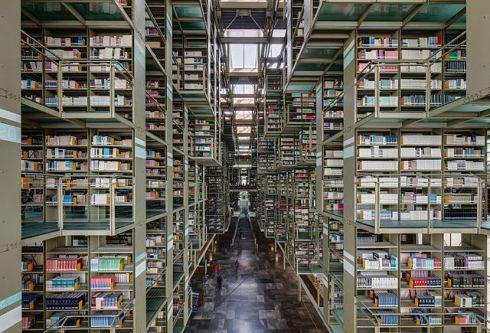biblioteca vasconcelos. foto diego delso